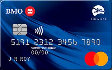 Carte Mastercard BMO AIR MILES