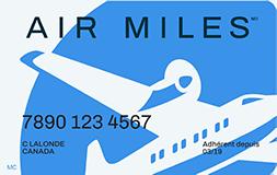 Carte de AIR MILES